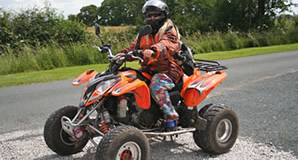 Sit-Astride ATVs Course