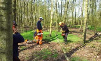 Chainsaw Maintenance, Cross Cutting & Felling up to 380mm (Units 201, 202 & 203) Course