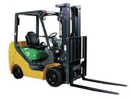 Industrial Masted Forklift Truck Course